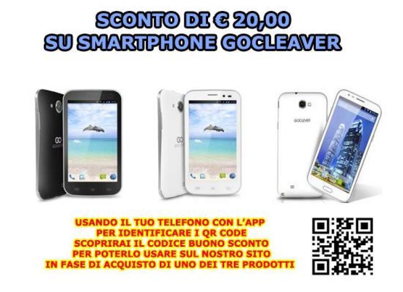 Super Offerta Smartphone GoCleaver