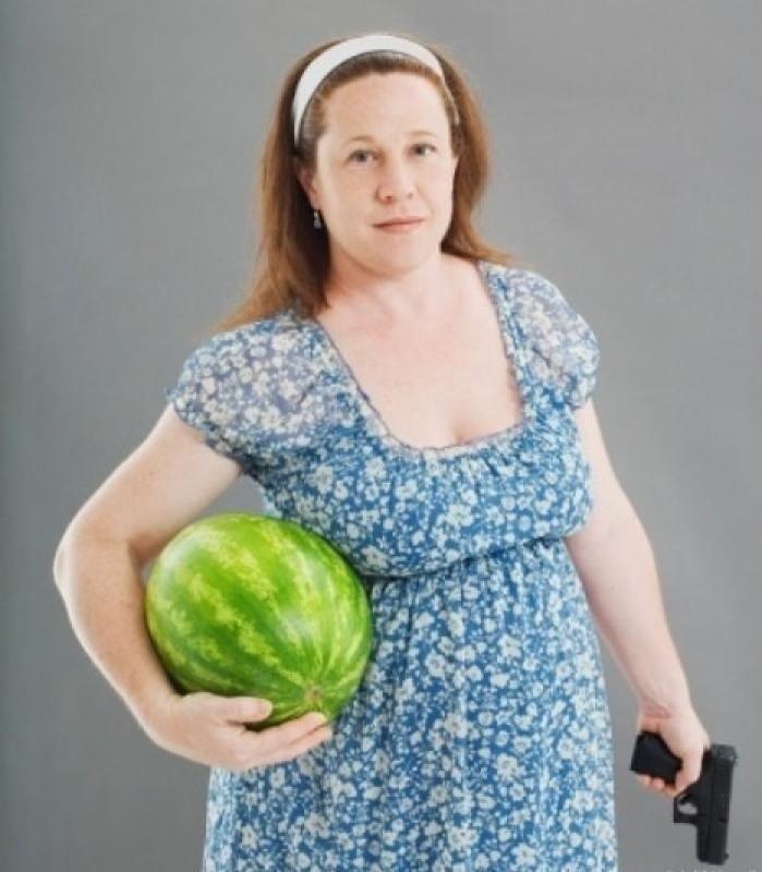 Le foto che STOCK-PHOTOS non venderà mai: Almeno la signora ha ragione di essere gelosa del proprio melone